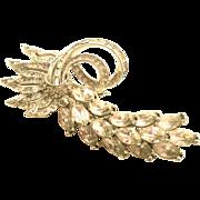PENNINO  Rhinestone Classy Pin Brooch
