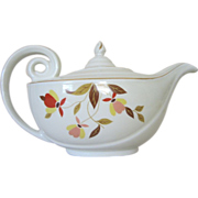 Vintage Hall Autumn Leaf Aladdin Teapot ~ REDUCED...1/2 OFF!