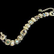 Vintage Goldette Very Victorian Inspired Slide Bracelet