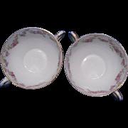 GDA Limoges France Soup Cups, Set of 2