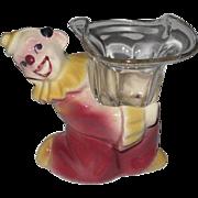 Shawnee JoJo the Clown Candle Holder, Small Planter, Figurine