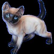Vintage Lefton Siamese Cat Figurine