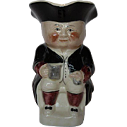 Vintage Tubby Toby Jug, Made in England
