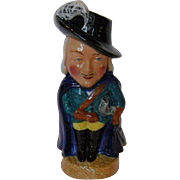 Vintage Dashing French Cavalier Toby Jug