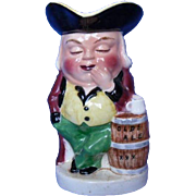 Vintage English Toby Mug, The Sleeper