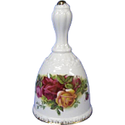Royal Albert Old Country Roses Porcelain Bell