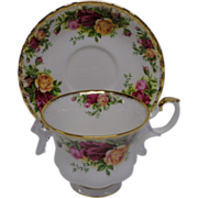 Royal Albert Old Country Roses Cup and Saucer, 2 Sets