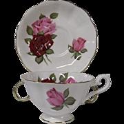 Vintage Royal Albert Bone China Cup and Saucer