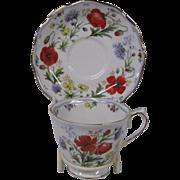 Royal Albert Floral Design Cup and Saucer Set, Autumn's Hope