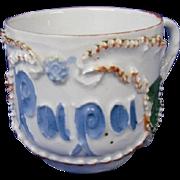 Vintage German Coffee Mug