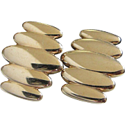 Vintage Swank Gold Tone Cufflinks ~ REDUCED!