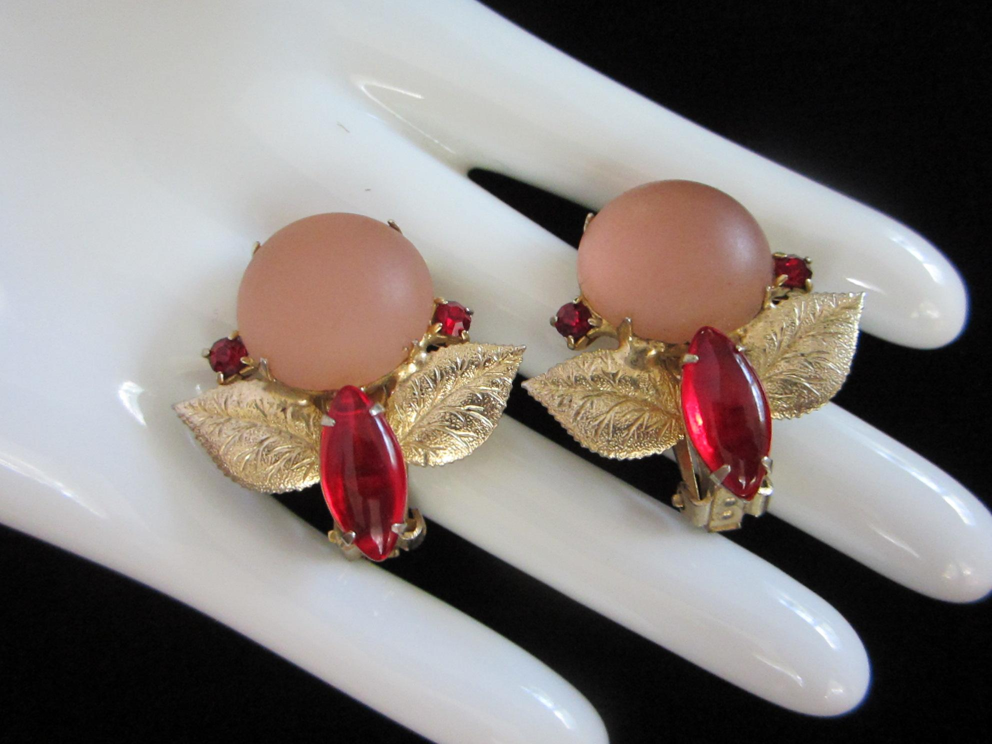 ruby red and blush - photo #3