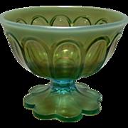 Rare Northwood Aqua Opalescent Sugar Bowl ~ REDUCED!