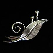 Vintage AMCO 14K GF Leaf Figural Brooch Pin ~ 1/2 OFF!
