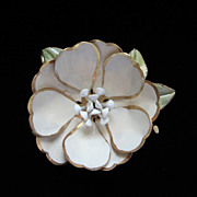 Vintage Corocraft, Coro Craft Enamel Flower Brooch Pin ~ REDUCED!