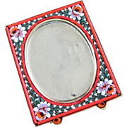 Vintage Italian Micro Mosaic Petite Picture Frame ~ REDUCED!