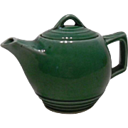 Sweet Little Green McCoy Single Cup Teapot