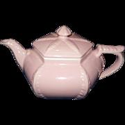 Vintage Hall Pink Plume Teapot, 1940's
