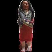 Skookum native american figural indian doll
