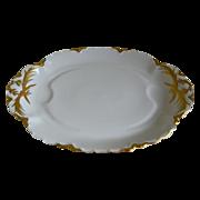 Haviland Limoges Large Oval Footed  Platter 1894 - 1931 - Red Tag Sale Item