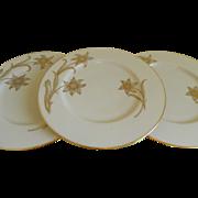 Vintage Lenox Plates, Daybreak T - 417, 1942  until 1967
