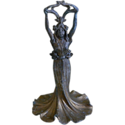 Antique Zinc Statue, Late 1800's -  Very  Early 1900's - Red Tag Sale Item