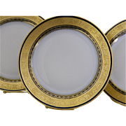 Redon Limoges, Set of 12 Plates, 1905 - 1930's