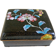 Old Chinese Cloisonne Box