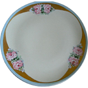 Vintage German China  Dessert 25 Piece Set, Signed Mom, Late 1960's - Early 1970's