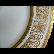 "C. Ahrenfeldt Limoges Set of 12 - 10"" Plates, 1894 until 1930"