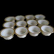 Vintage Lenox Custard Cups, 1920's -1930's