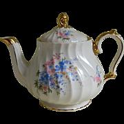 Vintage Sadler England Swirl Teapot
