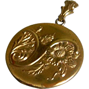 Antique G F Locket