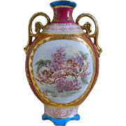 Antique Porcelain Austrian Vase