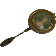 Reserved for Jingling Victorian Hand Mirror