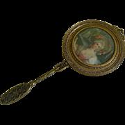 Victorian Hand Mirror