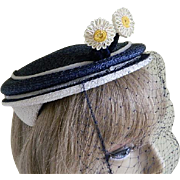 Vintage Evelyn Varon Model Hat