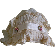 1920's Baby or Doll Bonnet