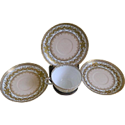 Frank Haviland Limoges, New York Cup and Three Saucers, 1910 until 1931