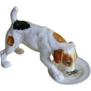 Vintage Royal Doulton Hand Made Jack Russell Dog Figurine