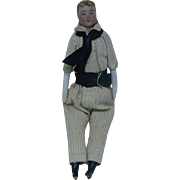 German Dollhouse Jaunty Young Man