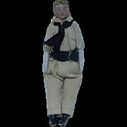 German Dollhouse Jaunty Young Man