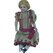 German Dollhouse Little Girl