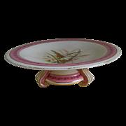 Antique Royal Worcester Pedestal Cake Stand 1883