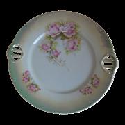 1920's P K Silesia  Lusterware Cake Plate