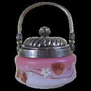 Victorian Biscuit Barrel