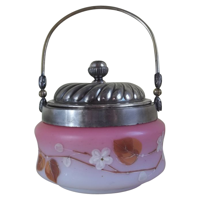 Victorian Biscuit Barrel