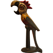Art Deco Cast Iron Parrot Bottle Opener