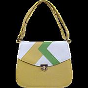 Vintage Naturalizer Vinyl Shoulder Bag