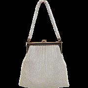 Vintage Whiting & Davis Enamel Mesh Handbag